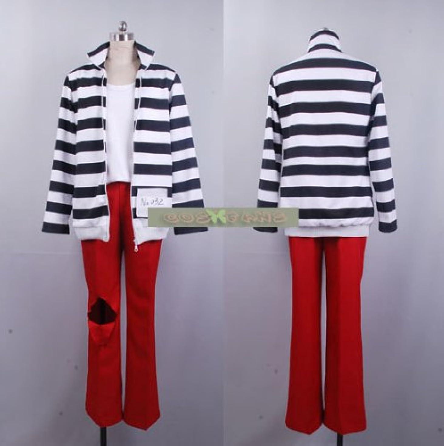 不透明なタイトル限りなく309ラッキードッグ1 ベルナルド?オルトラーニ 囚人服コスプレ衣装(男性XL)