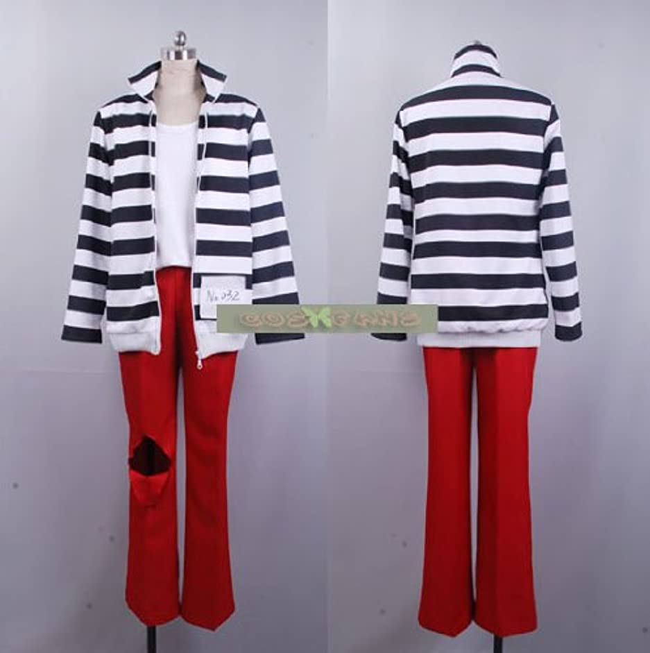 について住所ライブ309ラッキードッグ1 ベルナルド?オルトラーニ 囚人服コスプレ衣装(男性S)