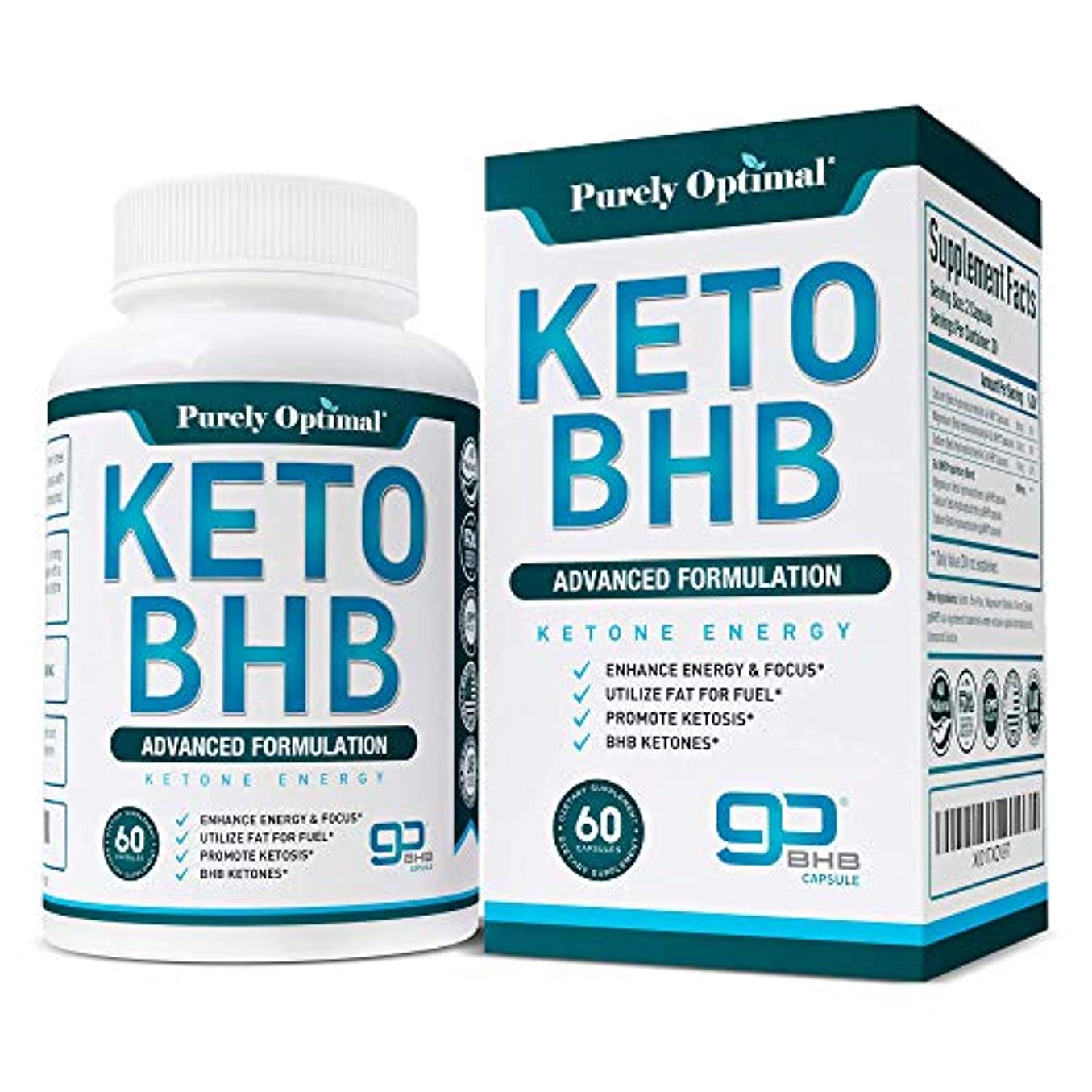 無駄クリスマス砦[Premium Keto Diet Pills - Utilize Fat for Energy with Ketosis - Boost Energy & Focus, Manage Cravings, Support Metabolism - Keto BHB Supplement for Women and Men - 30 Day Supply]