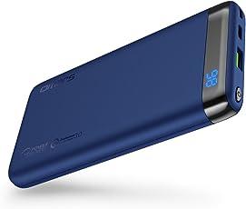 Omars USBC モバイルバッテリー10000mAh Power Delivery 対応 Quick Charge 3.0 対応 パソコン 充電 バッテリー(USB-Cケーブル付) MacBook/ノートパソコン/iPhone/iPad/Android/Nintendo Switchなど対応可能