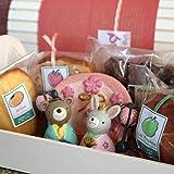 ひなまつり焼き菓子ギフト「うさぎとくまのおひなさま」(和歌山産フルーツのパウンドケーキ・マドレーヌ・アーモンドカップケーキとチョコナッツクッキー入り)
