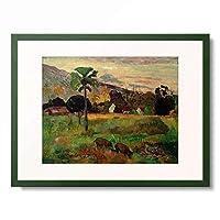 ポール・ゴーギャン Eugene Henri Paul Gauguin 「Haere Mai」 額装アート作品
