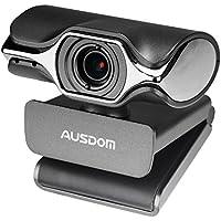ウェブカメラ AUSDOM ネットワークカメラ 暗視撮影 Webcam 1080P FHDウェブカム 内蔵式マイク スマカメ 800万画素 写真 スカイプなどのネットワーク通話用