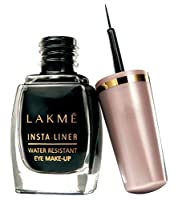 3 X Lakme Insta Liner Water Resistant Eyeliner 9 Ml(black) (Pack Of 5) - Styledivahubテδづつョ ... by Lakme [並行輸入品]