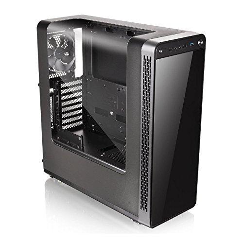 Thermaltake VIEW 27 ミドルタワーPCケース [ガルウィング風デザインパネル採用] CS6544 CA-1G7-00M1WN-00
