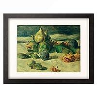 ピエール=オーギュスト・ルノワール Pierre-Auguste Renoir 「Fruit still life」 額装アート作品