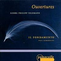 Overtures by GEORG PHILIPP TELEMANN (2001-01-23)