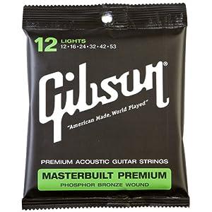 Gibson ギブソン アコースティックギター弦 SAG-MB12