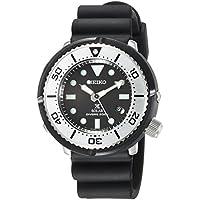 [プロスペックス]PROSPEX 腕時計 PROSPEX ソーラー LOWERCASEプロデュース ダイバースキューバ ブラック文字盤 SBDN047 メンズ