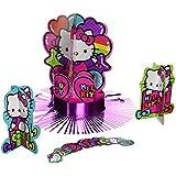 Hello Kitty Rainbow Table Decorating Kit ハローキティのレインボーテーブルデコレーションキットは、
