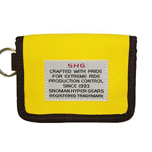 SNOMAN カードウォレット bits CF-15SW 11 イエロー CARD WALLET