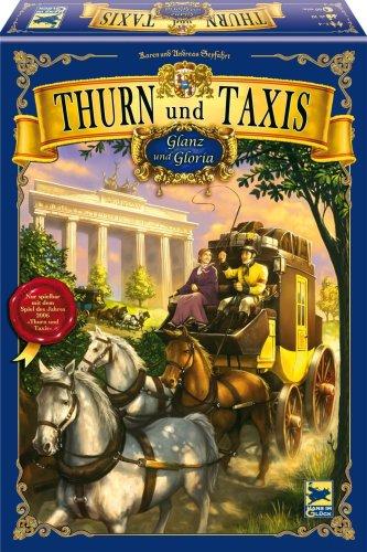 郵便馬車拡張セットI 北部マップ (Thurn und Taxis: Glanz und Gloria) Nur mit 'Thurn und Taxis' spielbar. Für 2 - 4 Spieler ボードゲーム