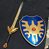 リペイント メッキ彩色 ロトの剣 ドラゴンクエスト アイテムズギャラリースペシャル ロトの盾 シークレット風 レジェンド ビッグサイズ