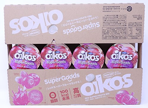 ダノン オイコス SuperGoods レッドスーパーフルーツミックス 110g×12カップ 脂肪0