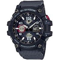 [カシオ]CASIO Gショック ジーショック メンズ MUDASTER アナログ デジタル アナデジ タフソーラー ブラック×グレー 20気圧防水 海外モデル GSG-100-1A8 腕時計[並行輸入品]
