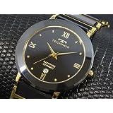 テクノス TECHNOS メンズ セラミック 腕時計 [並行輸入品]