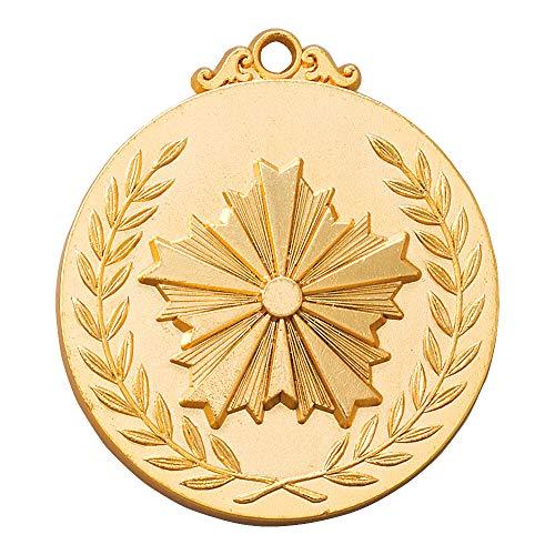 メダル F52(52mm) 警察マーク 銀