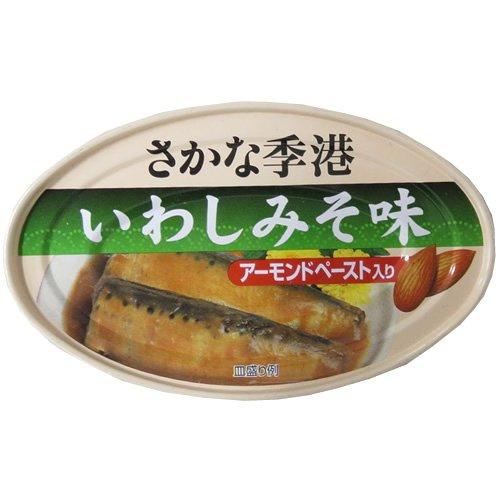 信田缶詰 いわしみそ味 100g×30缶