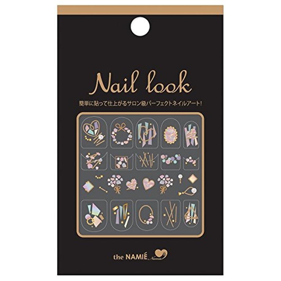 広く使い込む女の子ナミエネイルアートコレクション ネイルルック NL-004 (1シート)