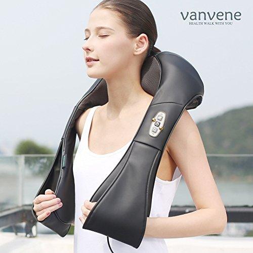 Vanvene マッサージ器 マッサージ マッサージャー マッサージチェア ブッラク Van-shoulder-002