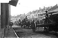 古い_フランス_市場_ New _ Orleans _ Wagons _ W _ H _ジャクソン8x 10クラシック古い写真ヴィンテージクラシックRare Find