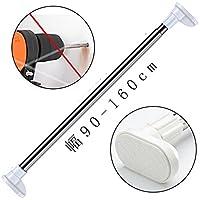 突っ張り棒 つっぱり棒 強力 室内物干し 幅90-160cm 浴室用ステンレス超強力伸縮棒 耐荷重25~55kg 取付寸法 90~150cm