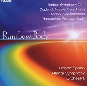 Rainbow Body / Symphony 1 / Ste Appalachian Spring