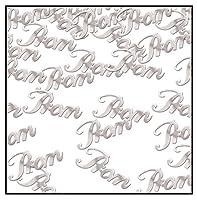 Beistle Prom Confetti 0.5 oz Silver 【Creative Arts】 [並行輸入品]