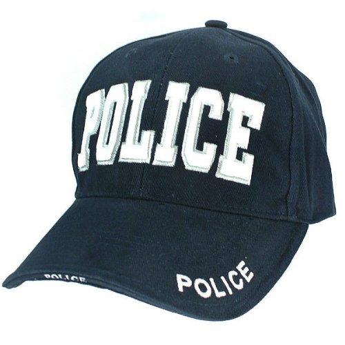 帽子 POLICE ネイビー ロスコ