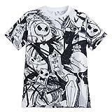 ディズニー ナイトメアー・ビフォア・クリスマス 大人 男性用 Tシャツ 日本サイズL (USサイズS) [並行輸入品]