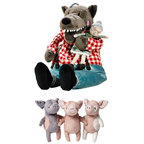 RoomClip商品情報 - Big Bad Wolf Toy and Three Little Pigs Toys