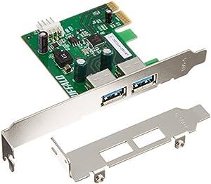 BUFFALO PCI Express x1用 増設インターフェースボード USB3.0&2.0 2ポート搭載 IFC-PCIE2U3S2