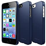 iPhone SE ケース, Ringke [Slim] 超スリム軽量ケース ストラップホール リンケ スリムfor Apple iPhone SE (2016) / 5S (2013) / 5 (2012) (SF Navy)