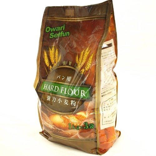 尾張製粉 強力小麦粉(最高級1等粉使用)パン用 48pac(1kg×144袋)
