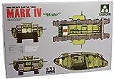TAKOM 1/35 第一次世界大戦イギリス軍戦車 マーク IV 「メール」 プラモデル
