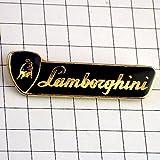 限定 レア ピンバッジ ランボルギーニ車エンブレム文字と牛 ピンズ フランス