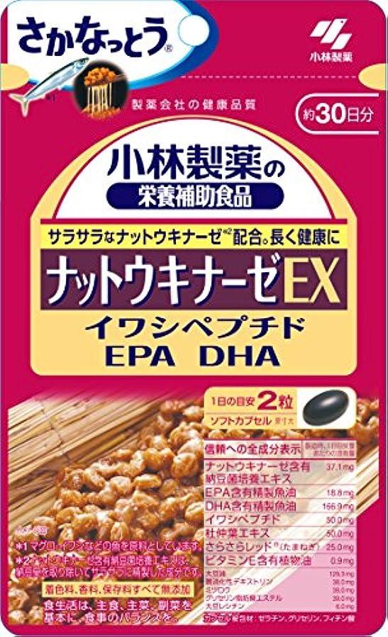 マイク接辞非難する小林製薬の栄養補助食品 ナットウキナーゼEX 60粒