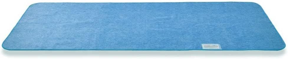 クモリ(Kumori) 除湿シート 洗える 寝具用湿気取りシート 除湿シーツ シリカゲル入り 布団/ベッド/カーペット/収納用 湿気対策 結露対策 防ダニ・防カビ・防臭加工 吸湿 調湿 消臭 除湿マット (シングル・90X190cm, ブルー)