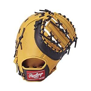 Rawlings(ローリングス) 軟式 グローブ 新ボール対応 HYPER TECH DP カラーズ[ファースト用] GR8HTC3ACD ゴールドタン/ブラック [サイズ 12.5] [12 1/2inch] LH(Right hand throw)※右投用