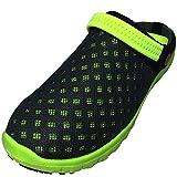 DECT(デクト) 70213-gy-270 メンズ 靴 超軽量 サボ サンダル リゾート カジュアル 通気性 クロッグ 軽い (27cm, グレー)