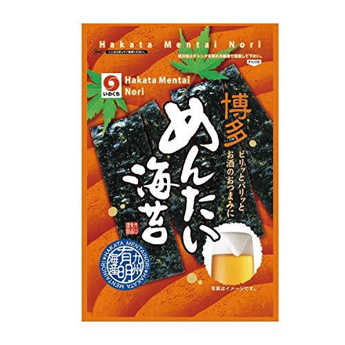 井口食品 博多めんたい海苔(袋詰) 10切20枚×5袋