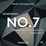 ドミトリ・ショスタコーヴィチ : 交響曲 第7番 「レニングラード」 (Dmitri Shostakovich : Symphony No.7 / Russian National Orchestra   Paavo Jarvi) [SACD Hybrid] [輸入盤] [日本語帯・解説付]