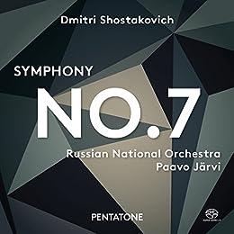 ドミトリ・ショスタコーヴィチ : 交響曲 第7番 「レニングラード」 (Dmitri Shostakovich : Symphony No.7 / Russian National Orchestra | Paavo Jarvi) [SACD Hybrid] [輸入盤] [日本語帯・解説付]