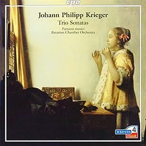 クリーガー:12のトリオ・ソナタ(1688)