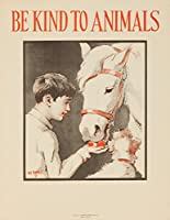 Be Kind to Animals ( Horse )ヴィンテージポスター(アーティスト: Ranells ) USA C。1939 24 x 36 Giclee Print LANT-63048-24x36