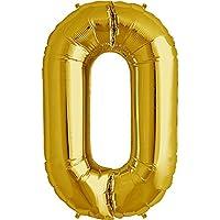 (ムーン ボート)MOON BOAT バルーン数字 風船約90CMのビッグナンバーバルーン バースデー 飾りパーティー バースディ 装飾 飾付 飾り付け (0)