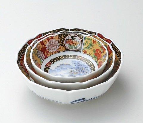 金彩伊万里 盛鉢 陶器 美濃焼