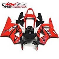 SPMOTO 赤と黒のカウリング本体キット フェアリング自転車外装部品に適したホンダ CBR900RR CBR900 RR 954 2002 新しい 2003 の abs プラスチック カバー