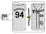 阪神タイガース選手サイン入り背番号モデル原口選手手帳型スマホケースiPhone5/5S/SE