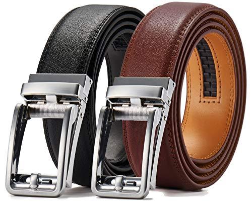 ベルトメンズビジネス紳士ベルトスーツベルト ビジネス、カジュアル、スーツに似合う男性ベルト クリックベルトオートロック ベルト革 無段階